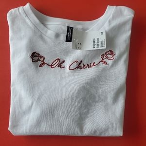 3/$30   Oh cherie tshirt h and m